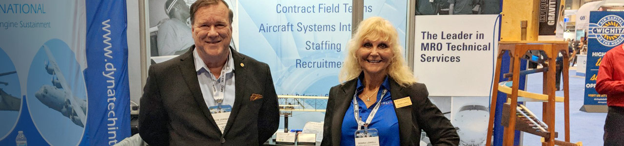 Reliance Aerotech Services Trade Show Booth