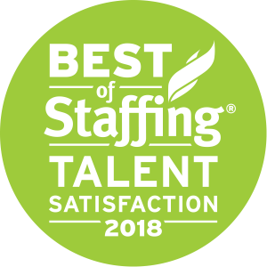 Best of Staffing: Talent Satisfaction 2018