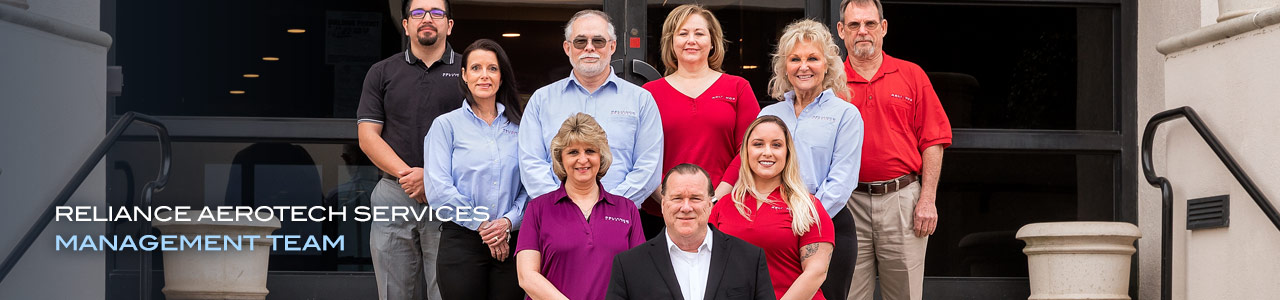 Reliance Aerotech Services Management Team