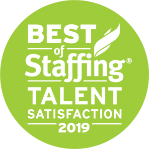 Best of Staffing: Talent Satisfaction 2019