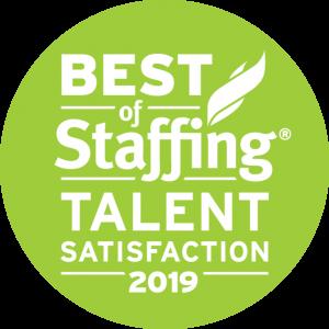 Best of Staffing: Talent Satisfaction 2019
