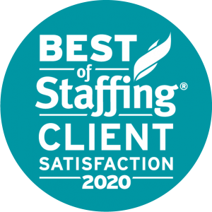 Best of Staffing: Client Satisfaction 2020