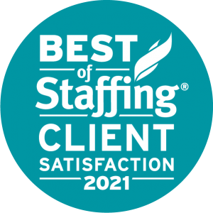 Best of Staffing Client Satisfaction 2021