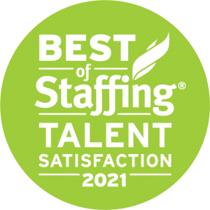 Best of Staffing Talent Satisfaction 2021